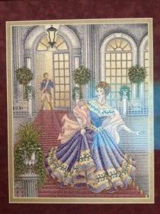 Cinderella cross-stitch